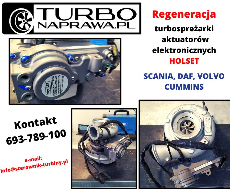 Repair Holset turbocharger & actuator